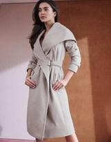 Lipsy Shawl Collar Hooded Coat