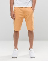 Bellfield Chino Shorts In Coral