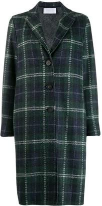 Harris Wharf London Oversized Check Coat