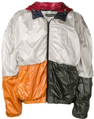 Y/Project Oversized Colour Block Jacket
