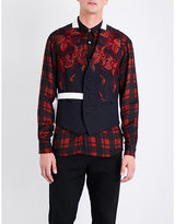 Dries Van Noten Floral-embroidered Wool Waistcoat