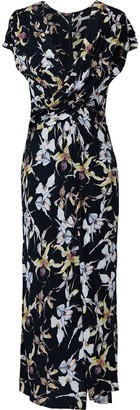 Jason Wu Collection Wild Orchid Printed Dress