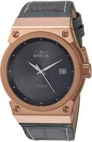 Invicta Women's 'Akula' Quartz Gold and Leather Casual Watch, Color: (Model: 24463)