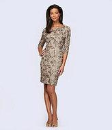 Alex Evenings Rosette Sheath Dress