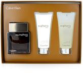 Calvin Klein Euphoria Intense 3.3-Oz Eau de Toilette Three-Piece Set - Men