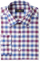 Club Room Men's Oxford Bold Gingham Dress Shirt, Created for Macy's