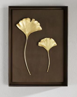 Michael Aram Gingko Leaf Wall Art