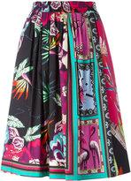 Etro printed A-line skirt - women - Cotton - 42