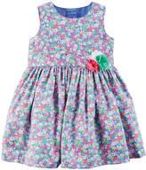 Carter's Sleeveless A-Line Dress - Baby Girls