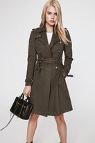 Rebecca Minkoff Amis Coat With Eyelets