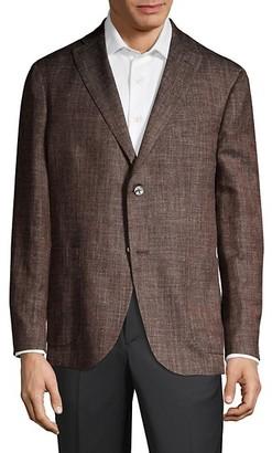 Boglioli Virgin Wool-Blend Melange Jacket