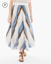 Chico's Tribal Stripes Skirt