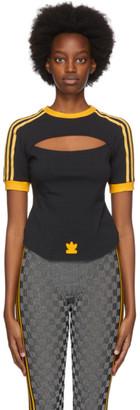 adidas Black Paolina Russo Edition 3-Stripes T-Shirt