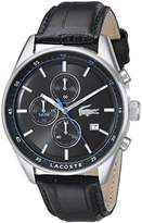 Lacoste Men's 2010784 Dublin Analog Display Japanese Quartz Black Watch