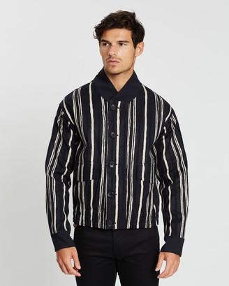 Cerruti Striped Print Jacket