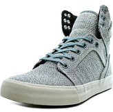 Supra Skytop Round Toe Canvas Skate Shoe.
