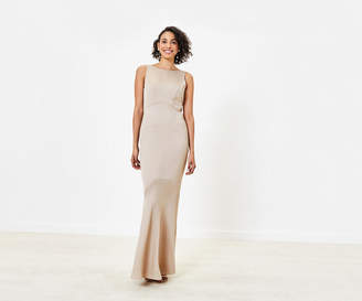 Oasis High Neck Bridesmaid Dress