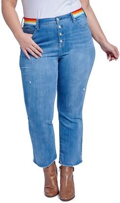 Seven7 Lover Crop Boot Jeans (Plus Size)