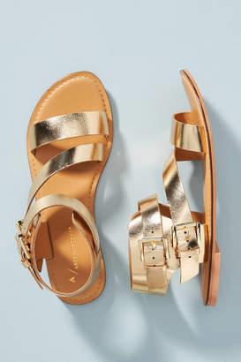 Anthropologie Asymmetrical Gladiator Sandals
