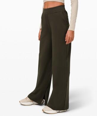 Lululemon LA Wide Leg Side Split High-Rise Pant