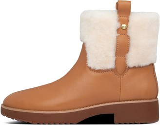 FitFlop Mimie Shearling Ankle Boots