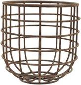 Creative Co-op Round Metal Basket