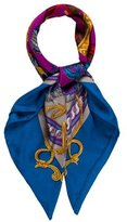Hermes Bride de Cour Silk Scarf