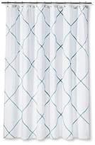 Threshold Shower Curtain - Mint Trellis