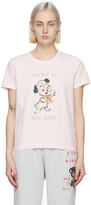 Thumbnail for your product : Marc Jacobs Pink Magda Archer Edition 'We're In The Shit' T-Shirt