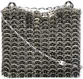 Paco Rabanne textured chain shoulder bag