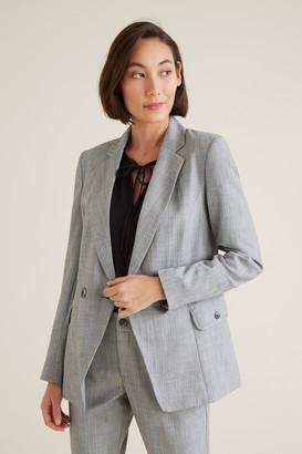 Seed Heritage Cross-Dye Suit Blazer