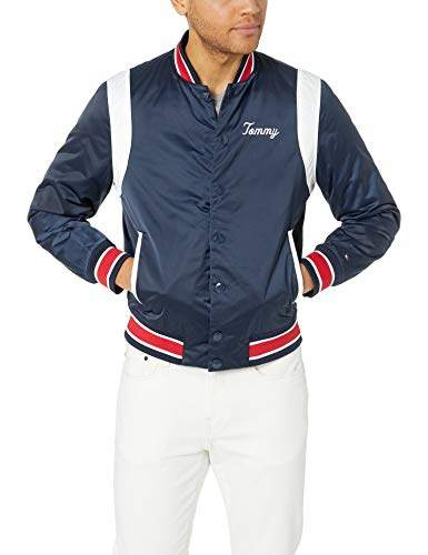 Men's Adaptive Varsity Jacket with Magnetic Buttons
