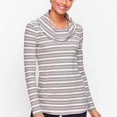 Talbots Cowlneck Stripe Tunic