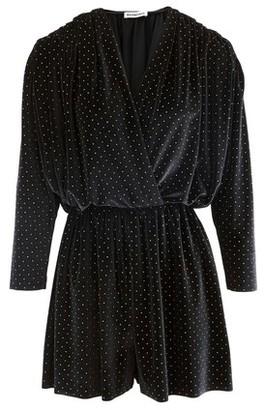 Balenciaga Velvet mini dress