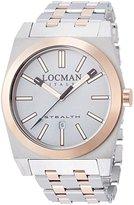 Locman Men's Watch 2010RAGF5N0BAR