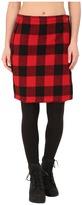 Woolrich Richville Wool Buffalo Skirt