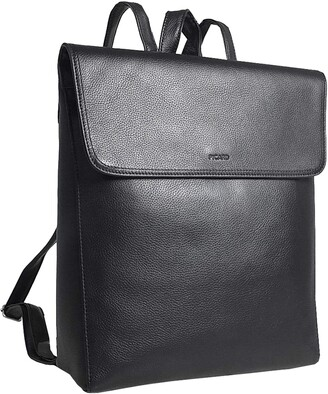 Picard City Backpack with flap Luis Leather 30 5 x 28 x 10 cm (H/B/T) Unisex Backpacks (8658)
