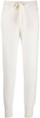 Laneus Slim-Fit Cashmere Trackpants