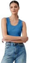 Thumbnail for your product : Forever New Riley Scoop Neck Tank True Blue