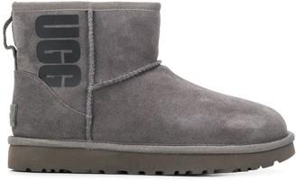 UGG logo print mini boots