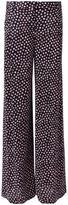 Diane von Furstenberg dotted print trousers - women - Silk - 8