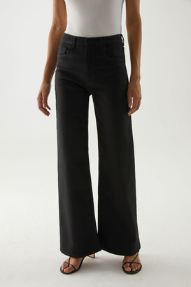 Cos Organic Cotton Flared Jeans