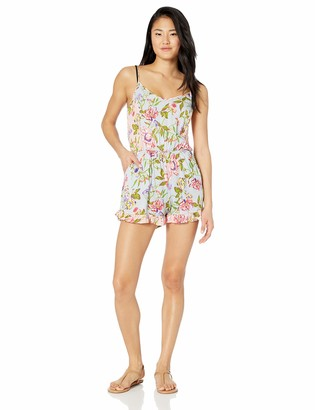 Bikini Lab Junior's V-Neck Swimwear Cover Up Romper