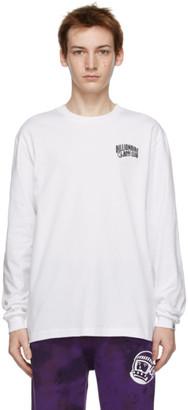 Billionaire Boys Club White Small Arch Logo Long Sleeve T-Shirt