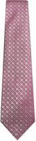 Charvet Leaf pattern silk tie