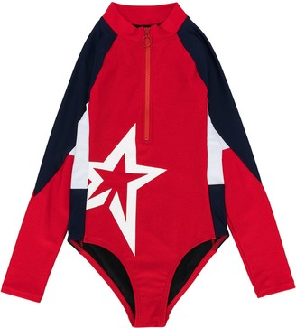 Perfect Moment Kids Star Print Float Suit