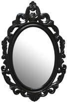 Asstd National Brand Stratton Home Dcor Black Baroque Mirror