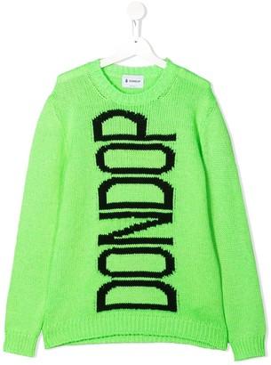 Dondup Kids Intarsia Knit Jumper