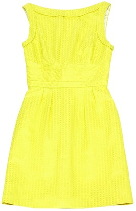 L'Wren Scott Yellow Cotton Dress for Women