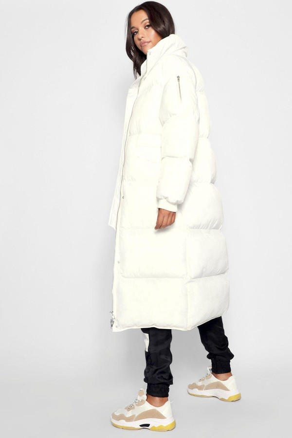 Thumbnail for your product : boohoo Tall Longline Padded Coat